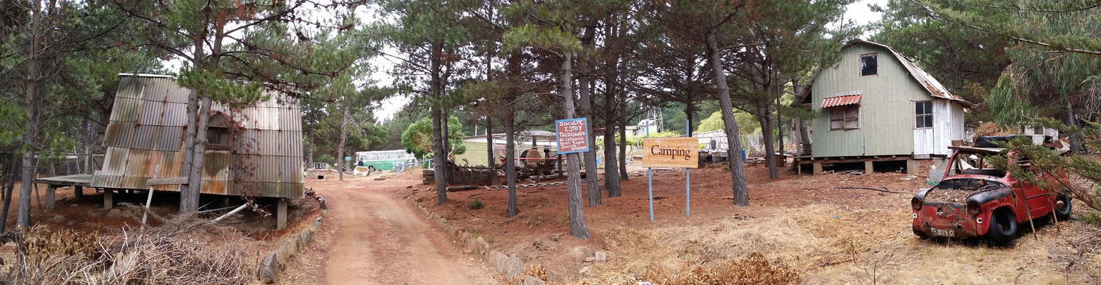 Campingplätze in Chile...