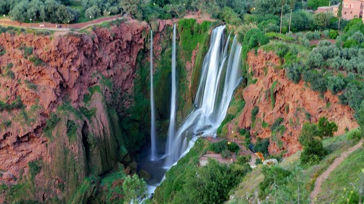 Der Wasserfall in Ouzoud