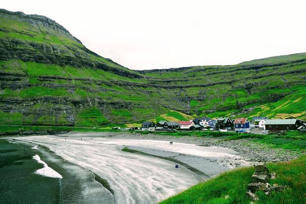 Nein, der Strand von Tjörnuvik