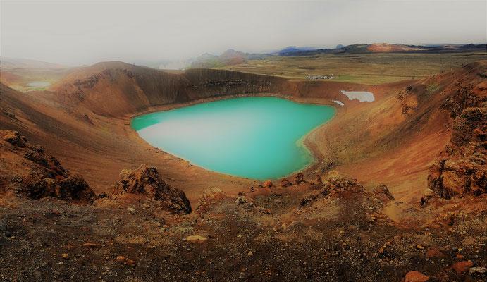 Kratersee Viti