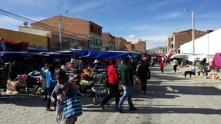Markttag in Uyuni