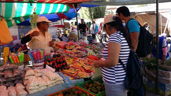 Markt in San Pedro de Atacama