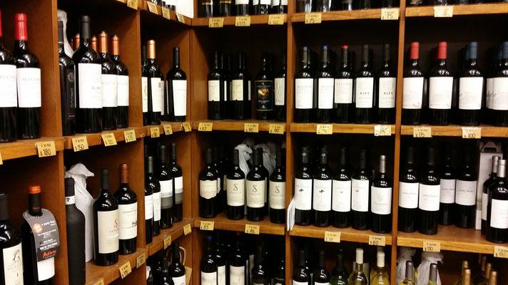 Nicht nur wegen des Weins...
