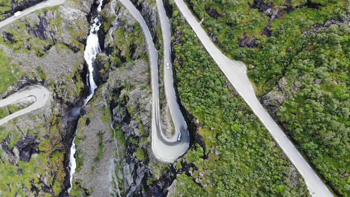 DIE Trolstigen. Die Passtrasse aller Passtrassen von Norwegen