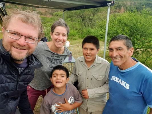 Besuch von Flavio uns seinen Jungs Mateo und Lautaro
