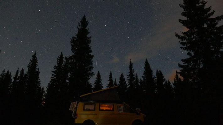 Die Nacht mit den Sternschnuppen.... so viele haben wir noch nie gesehen
