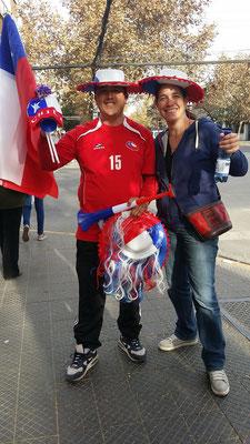 Vamos Chilenos! Rechtzeitig zum Copa América zurück in Santiago