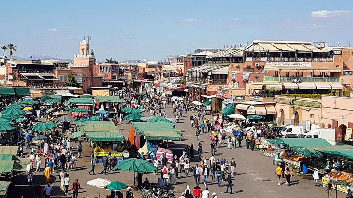 Lebendiges Marrakech