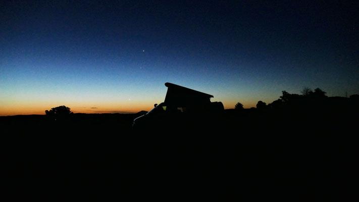 Einer von vielen wunderschönen Sonnenuntergängen