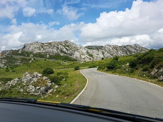 Unterwegs zu den Lagos de Covadonga