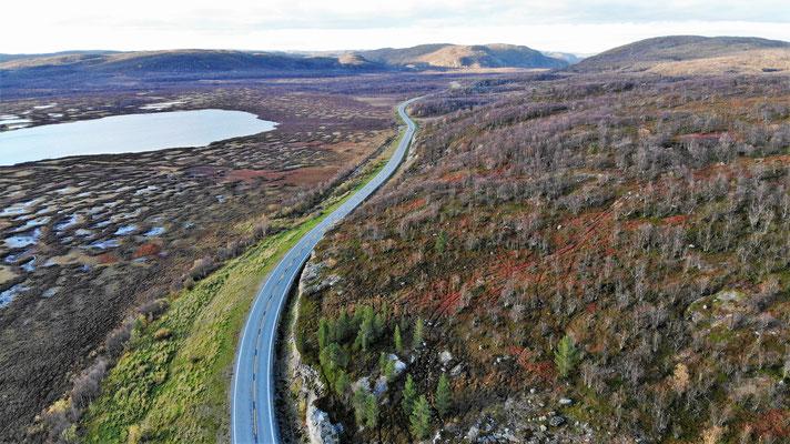 Herrliche Fahrt nach Kirkenes
