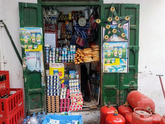 Ein ganz normaler Supermarkt in Marokko