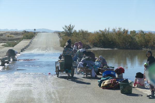 Waschtag in Marokko