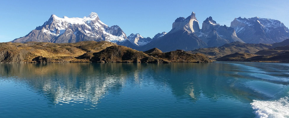 Lake Pehoe im NP Torres del Paine