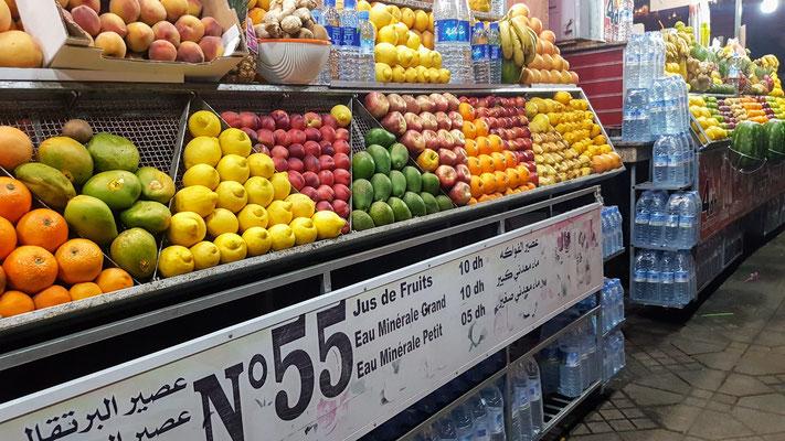Mmh, leckere Fruchtsäfte