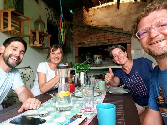 Zu Besuch bei Ilse aus Lettland und Mauro aus Uruguay in Melo
