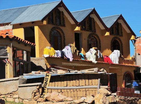 Waschtag in Bolivien