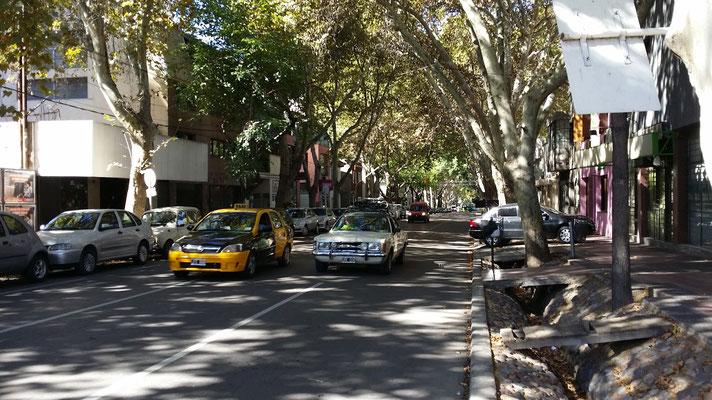 Schmuck ist es in Mendoza.