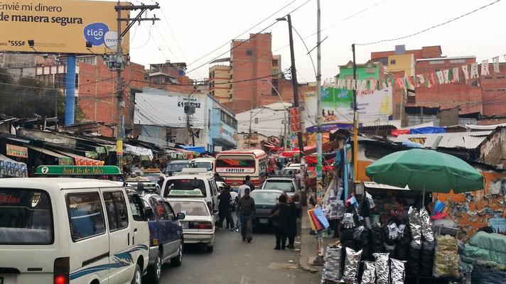 Markttag in La Paz