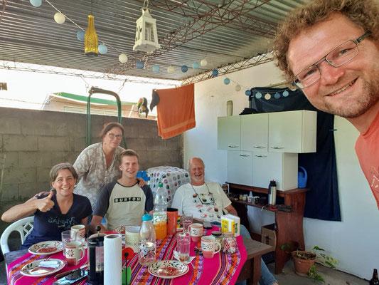 Zu Besuch bei Monica, einer Urugaya mit Schweizer Vorfahren und John mit Englischen Vorfahren in Nueva Helvecia