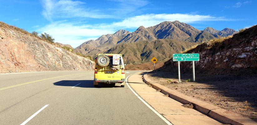 Ausflug auf der neuen Ruta 40
