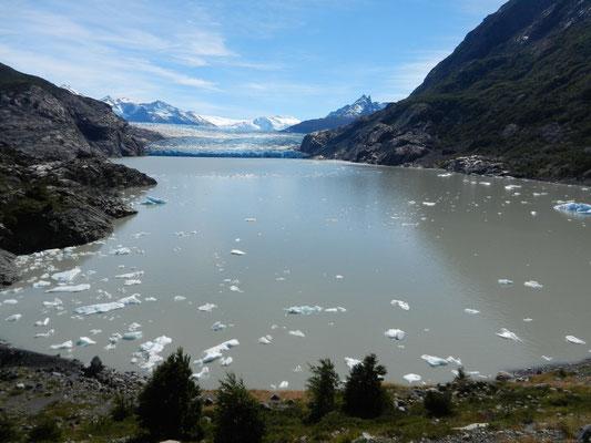 Glaciar Grey/Lago Grey im NP Torres del Paine.