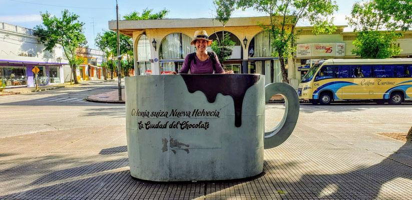 Zu Besuch in Nueva Helvecia, einer alten Schweizer Kolonie in Uruguyay