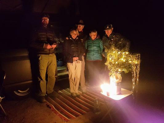 Weihnachten in der Wüste mit Tante Ursi, Onkel Turi, Ariette und Andi