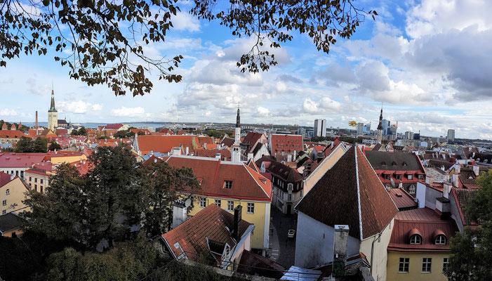 Tallin, die schöne Hauptstadt von Estland