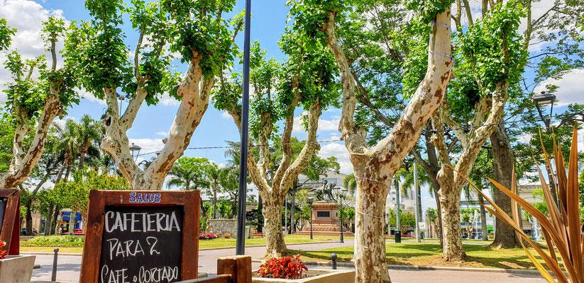 Minas, eine schmucke Kleinstadt nordöstlich von Montevideo