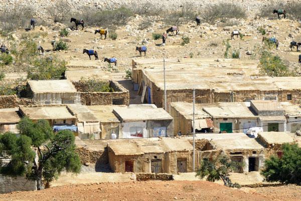 Ein Bergdorf im Hinterland von Agadir