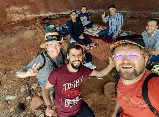 Männernachmittag auf marokkanisch