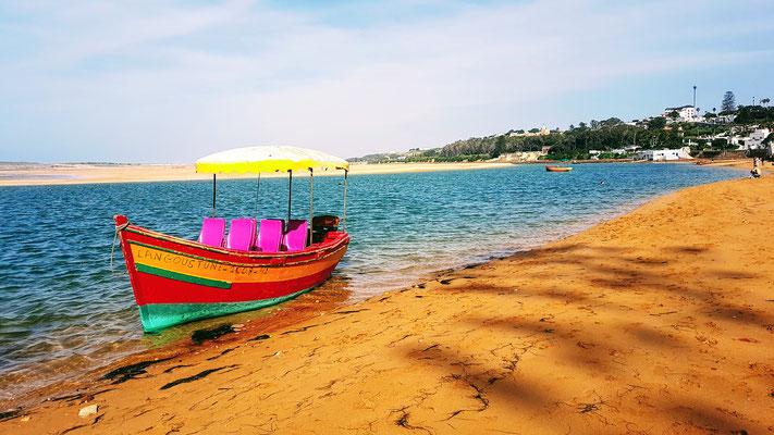 Die Lagune von Oualidia....