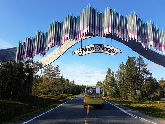 Willkommen im Norden von Norwegen...