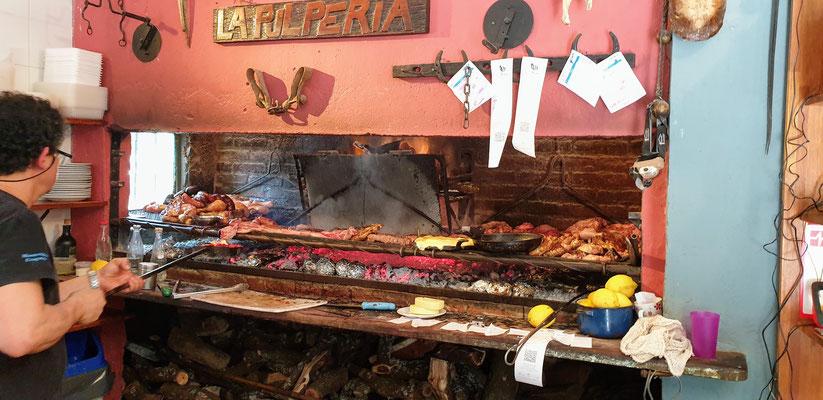 So sieht ein Urugayo Parilla aus...