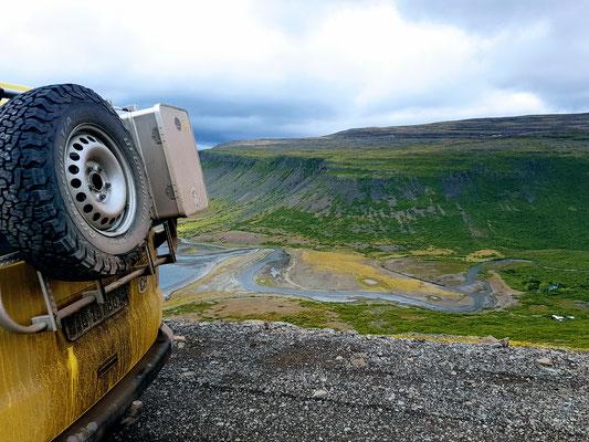 Ausblick in die schönen Fjorde