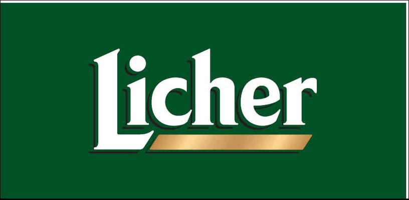 Theken- Kühltruhen und Becher-Pate Licher Brauerei
