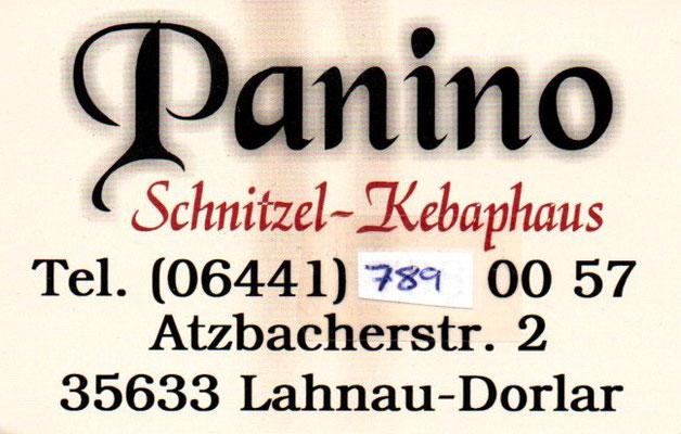 Notdienst-Pate Panino-Grill in Lahnau-Dorlar am Kreisel