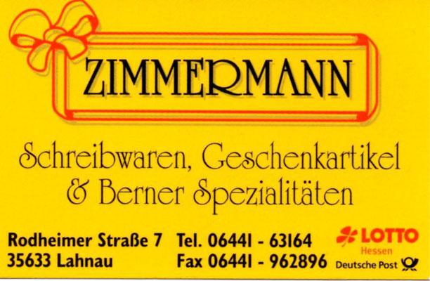 Brötchen-Pate Zimmermann Geschenke und Schreibwaren