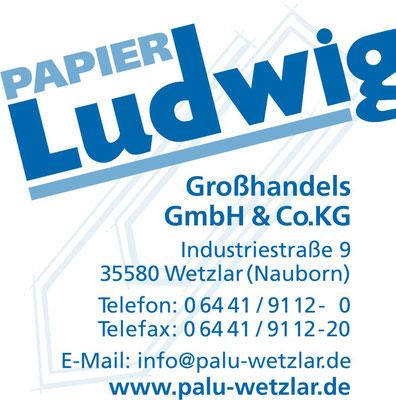 Einlass-Pate Papier Ludwig