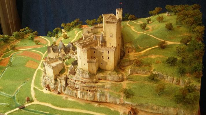 Chateau de Commarque XVe interprétation Hervé Arnoul