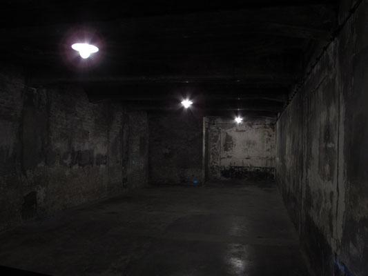 Eine kleine Gaskammer im Stammlager