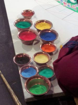 Der farbige Sand