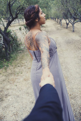 Photographe studio provence couple engagement mariage var