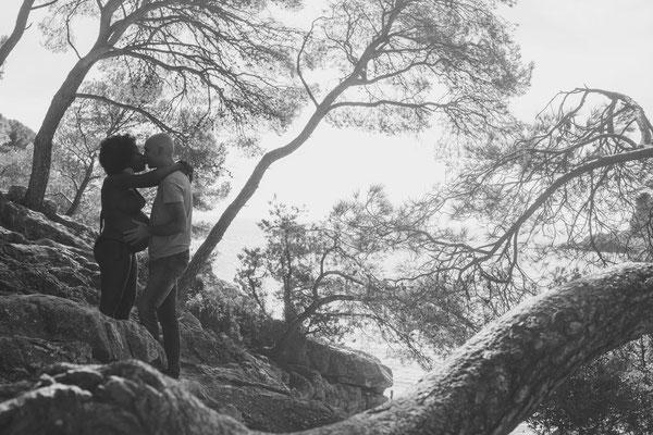 Photographe provence var mariage mer grossesse soleil