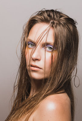 beauty photographe var provence maquillage regard portrait mode
