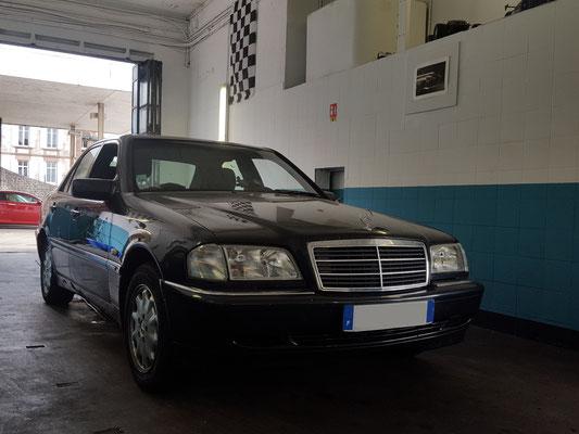 Montage équilibrage - Mercedes Classe C