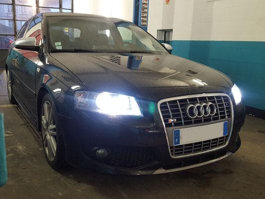 Remplacement kit embrayage + volant moteur - Audi S3