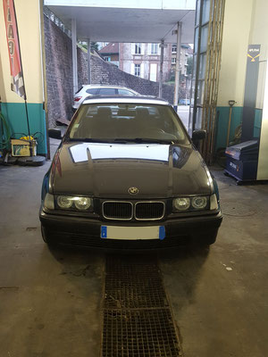 Remplacement embrayage + roulement ARD - BMW SERIE 3