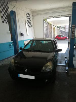 Remplacement kit de freins arrière - Renault Clio II